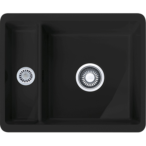 Zlewozmywak Ceramiczny Franke Kubus Kbk 160 Czarny Mat 1260442602